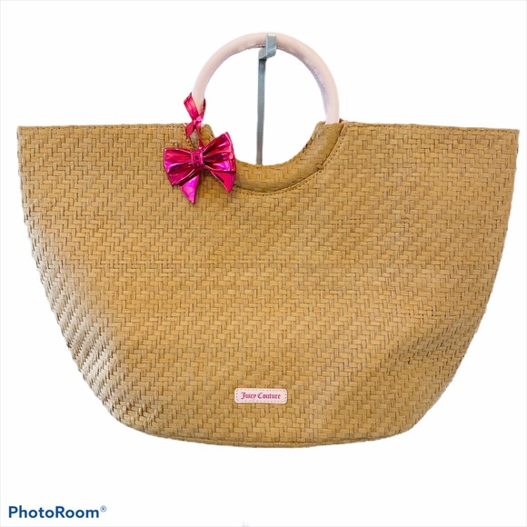 Juicy Couture Woven Tote